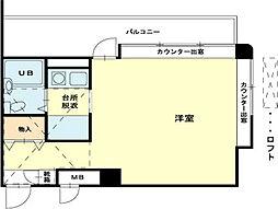 兵庫県加古川市西神吉町岸の賃貸マンションの間取り