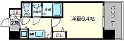 アドバンス新大阪ウエストゲート2[4階]の間取り