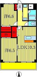 SAKURA AVENUE[3階]の間取り