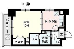 GH舞鶴[10階]の間取り