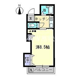AXIA-SHIDO II[5階]の間取り