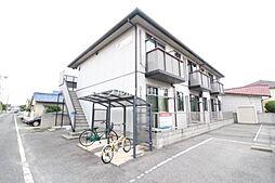 岡山県岡山市南区福吉町の賃貸アパートの外観