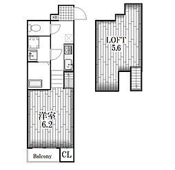 グランドエステート[1階]の間取り