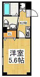 ドミール新座[2階]の間取り