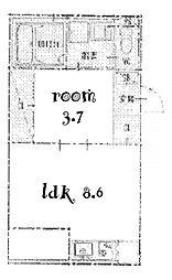LOTUS[2階]の間取り