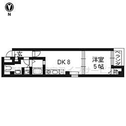 MORE KAWARAMACHI[401号室]の間取り