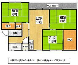 福岡県北九州市門司区柳原町の賃貸マンションの間取り