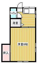 佼和荘[2階]の間取り