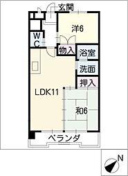 STビル[4階]の間取り