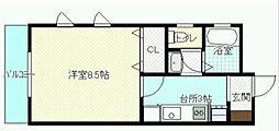 J.feel船塚[2階]の間取り