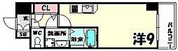 エスリード神戸海岸通[12階]の間取り