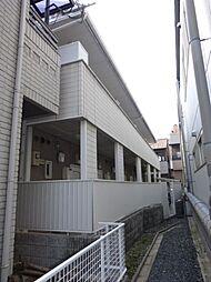 京都府京都市下京区中堂寺壬生川町の賃貸アパートの外観