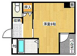三研BLDインペリアル5号館[5階]の間取り