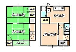 [一戸建] 兵庫県神戸市垂水区星陵台6丁目 の賃貸【/】の間取り