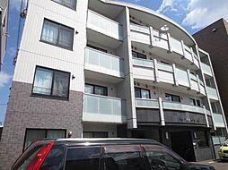 北海道札幌市中央区北十条西20丁目の賃貸マンションの外観