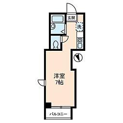 宮崎ビル[5階]の間取り