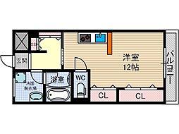 西駅前吉田マンション[2階]の間取り