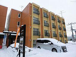 北海道札幌市白石区平和通4丁目北の賃貸マンションの外観