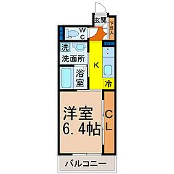 Grandeur Chikusa(グランドゥール千種)[3階]の間取り