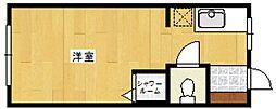 第二村山マンション[1階]の間取り