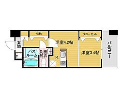 呉服町駅 4.3万円