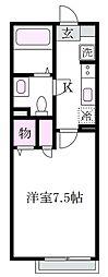 マリナーズコート[2階]の間取り