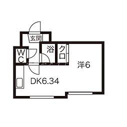 エクセルガーデン宮の森[2階]の間取り