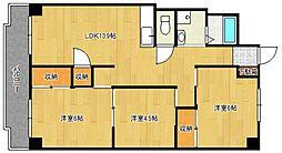 フジマンション[102号室号室]の間取り