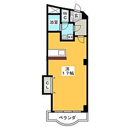 第8川崎ビル[3階]の間取り