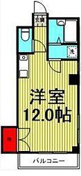 メゾンリヨ[1階]の間取り