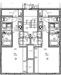 都営大江戸線 東新宿駅 徒歩5分の賃貸アパート 2階1Kの間取り