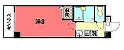 第1みやぎビル[320号室号室]の間取り