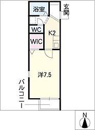カーサローマ[2階]の間取り