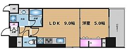 エスポワール福島[4階]の間取り