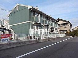愛知県名古屋市中川区荒子1の賃貸アパートの外観