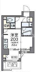 LOVIE銀座東[9階]の間取り