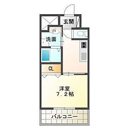 兵庫県神戸市垂水区神田町の賃貸マンションの間取り