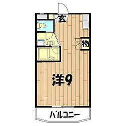 ジョリーファーム[4階]の間取り