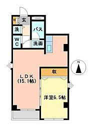 ライジング泉H・Mビル[3階]の間取り