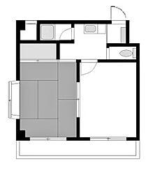 レジデンス相模台[2階]の間取り