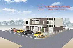 仮)八幡東区尾倉1丁目新築アパート[1階]の外観