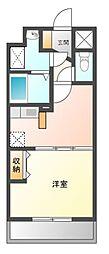 プリム スカイズ[2階]の間取り