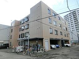 北海道札幌市白石区菊水五条3丁目の賃貸マンションの外観