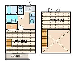 エクセリーナ2[2階]の間取り