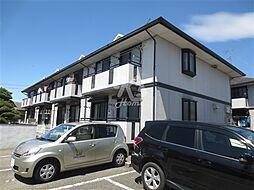 兵庫県神戸市西区竜が岡5丁目の賃貸アパートの外観