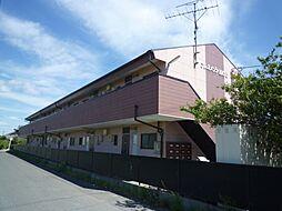 三重県三重郡菰野町大字川北の賃貸アパートの外観