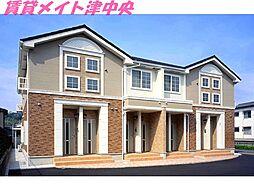 三重県津市押加部町の賃貸アパートの外観