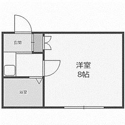 ピアコート前田[315号室]の間取り