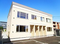 北海道札幌市北区篠路三条2丁目の賃貸アパートの外観