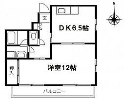大和ビル[6階]の間取り